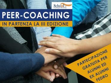 Terza Edizione Peer Coaching