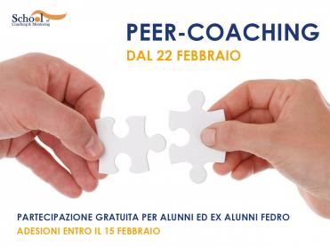 Peer Coaching - Quarta Edizione
