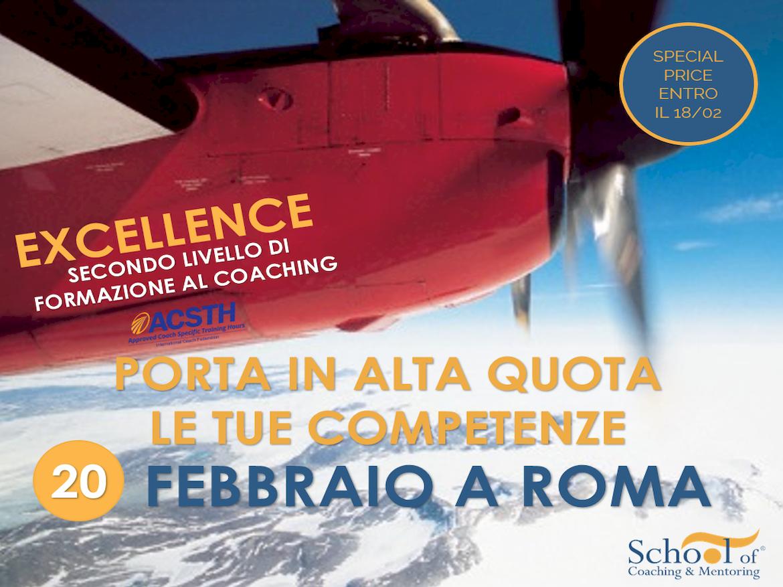 Corso Excellence a Roma