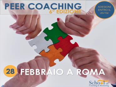 Peer coaching 6a edizione