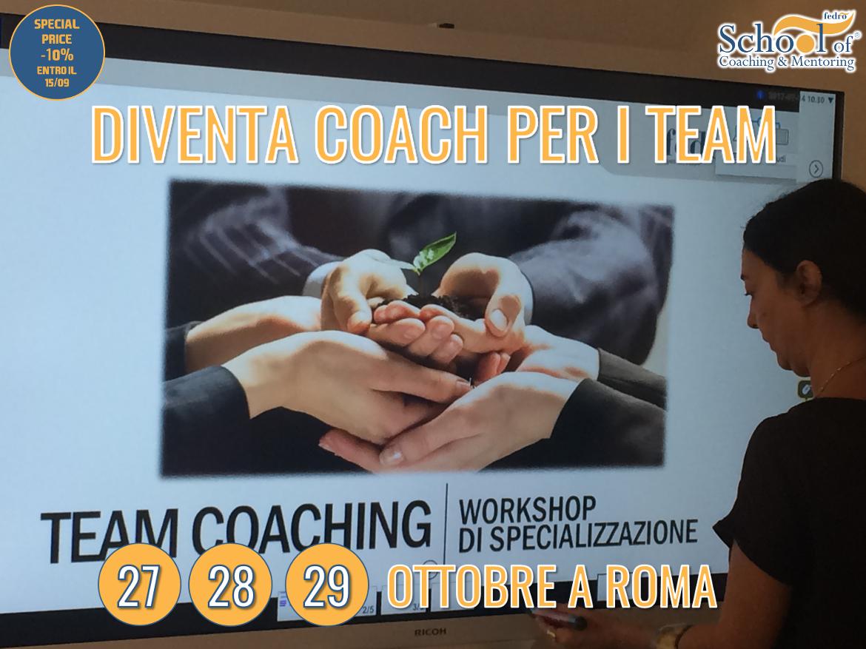 Diventa Team Coach