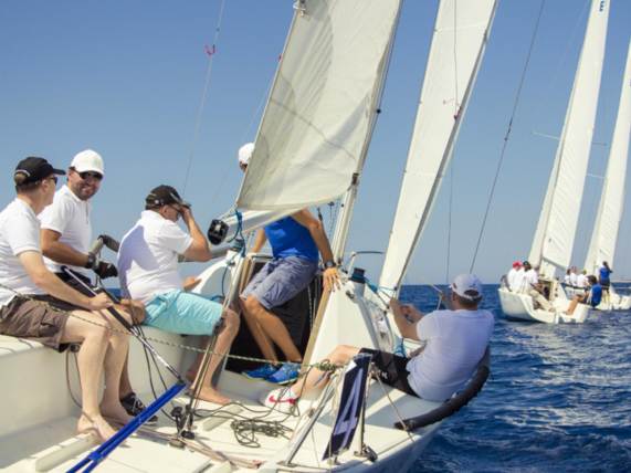 Team building barca a vela